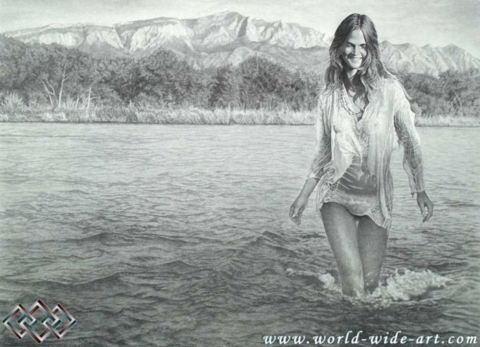 Wading The River