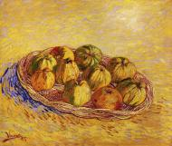 Still Life With Basket Of Apples