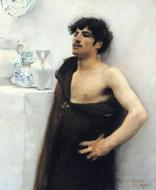 1876. Young Man in Reverie