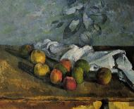 Apples and Napkin, 1879-80