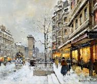 Porte st denis winter