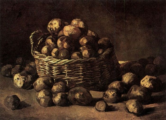 Basket Of Potatoes 1
