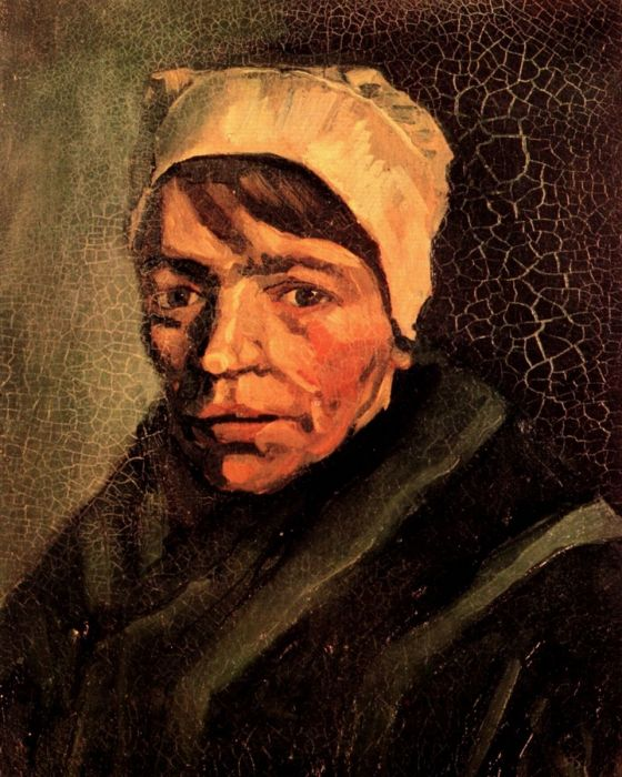 Head Of A Peasant Woman With White Cap 5