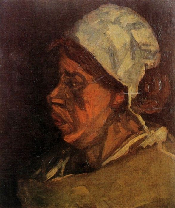 Head Of A Peasant Woman With White Cap 8