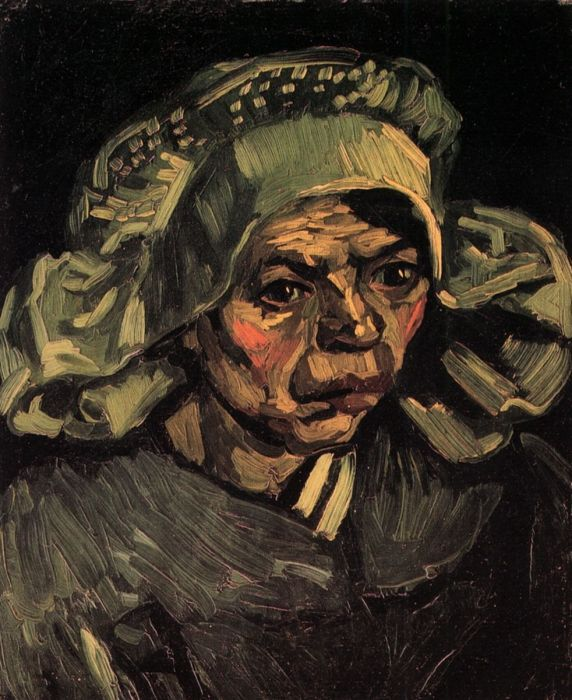 Head Of A Woman 4