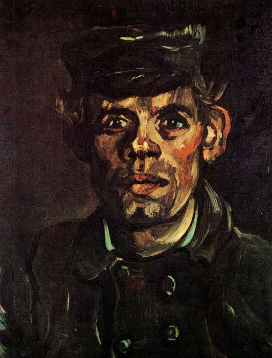Head Of A Young Peasant In A Peaked Cap 1