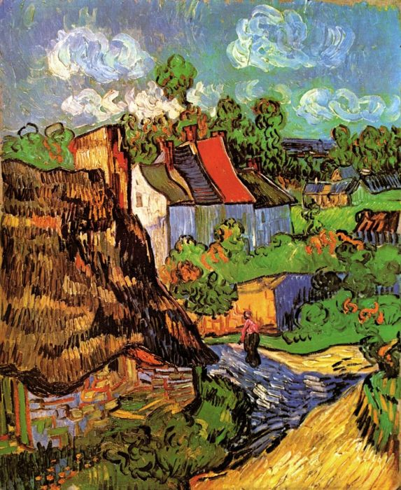 Houses In Auvers 1