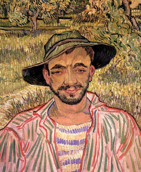Portrait Of A Young Peasant