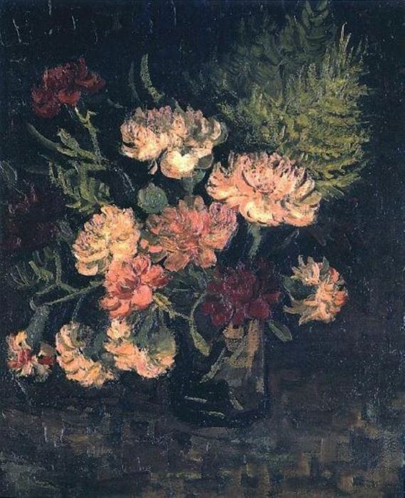 Vase With Carnations 3