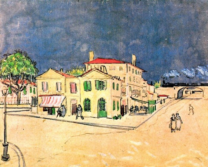 Vincent S House In Arles The Yellow House2