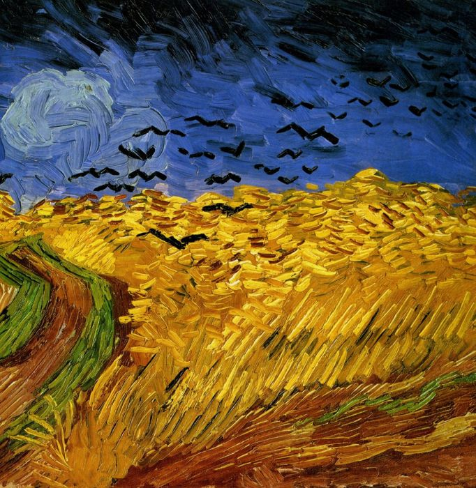 Wheat Field With Crows (Фрагмент 2)