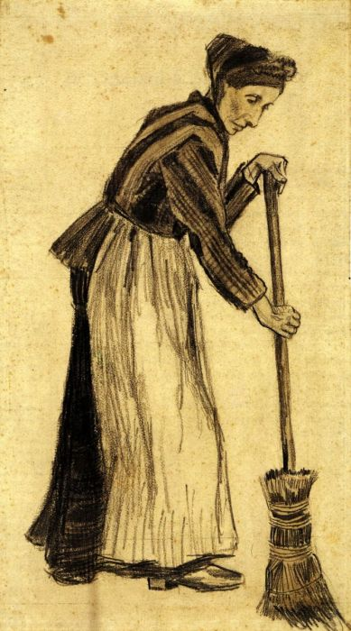 Woman With A Broom 2
