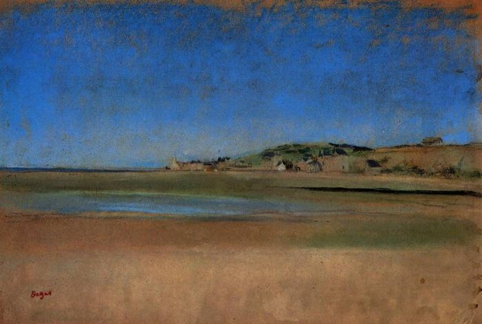 1869. Houses by the Seaside