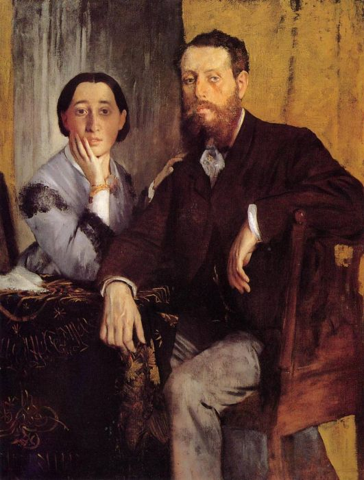 1867. Edmond and Therese Morbilli