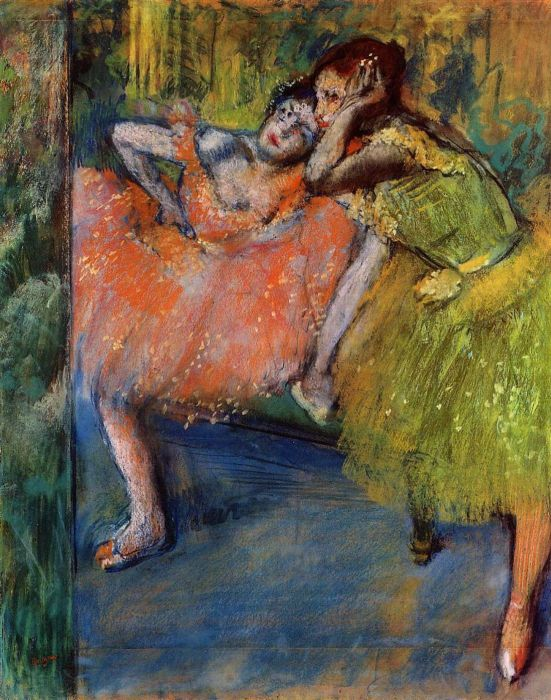 1901. Two Dancers in the Studio