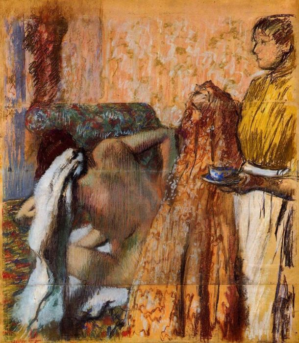 1893-1898. Breakfast after Bath