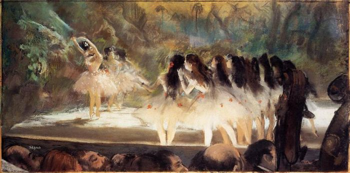 1877. Ballet at the Paris Opers