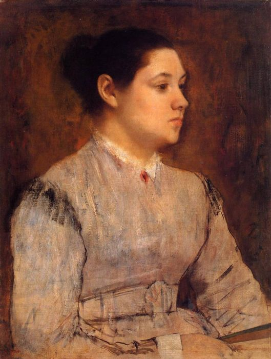 1864-1865. Portrait of a Young Woman
