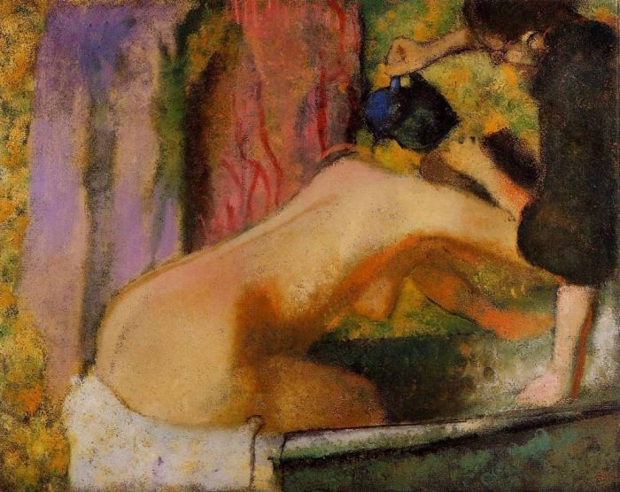 1893-1898. Woman at Her Bath