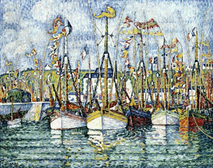 Blessing of theTuna Boats, Groix, 1923