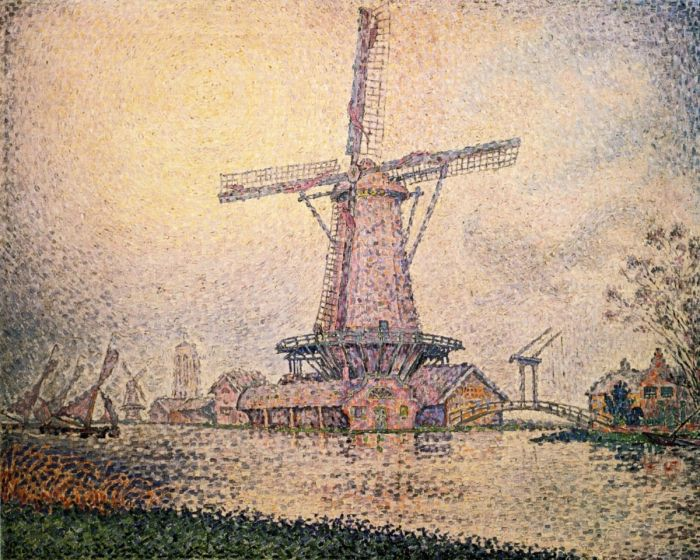 Dutch Mill at Edam, 1898