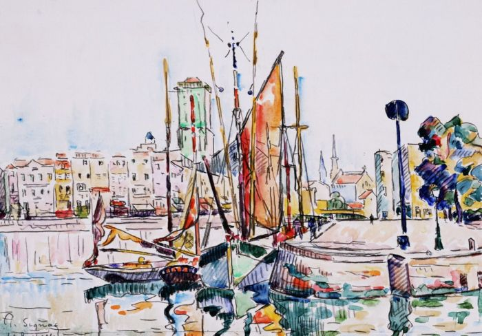 La Rochelle Boats and Houses