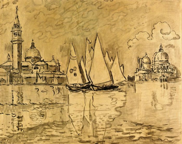 Study for Venice, Morning, 1908