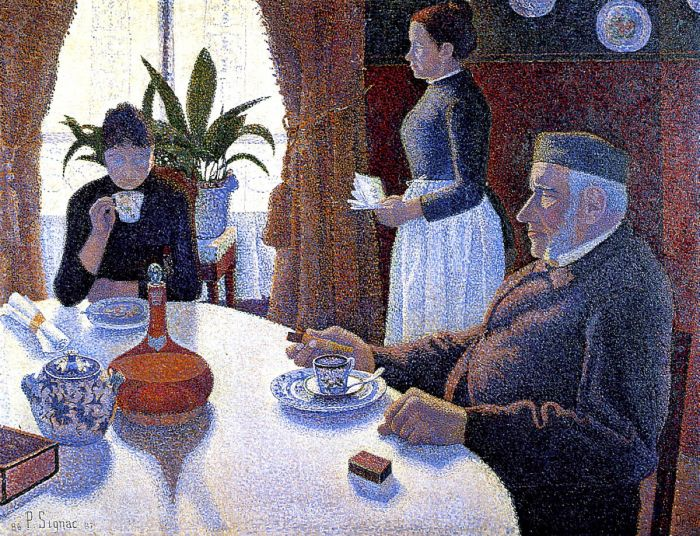 The Dining Room, 1886-87