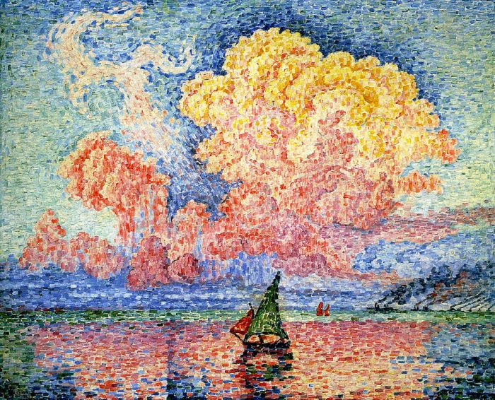 The Pink Cloud, Antibes, 1916