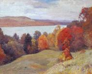 Autumn by the Hudson  24x30