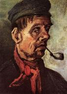 Head Of A Peasant With A Pipe