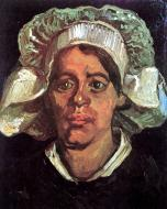 Head Of A Peasant Woman With White Cap 1