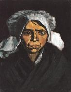 Head Of A Peasant Woman With White Cap 4