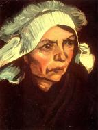 Head Of A Peasant Woman With White Cap 9