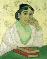 Madame Ginoux With Books