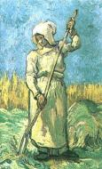 Peasant Woman With A Rake After Millet