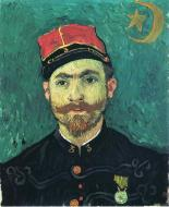 Portrait Of Millet Second Lieutenant Of The Zouaves