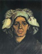 Portrait Of Peasant Woman Gordina De Groot