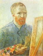 Self Portrait As A Painter In Front Of The Easel