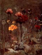 Still Life With Scabiosa And Ranunculus