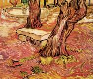 The Stone Bench In The Garden Of Saint Paul Hospital