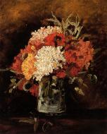 Vase With Carnations 2