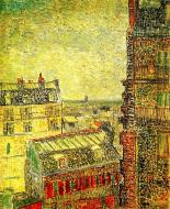 View Of Paris From Vincent S Room In The Rue Lepic 1