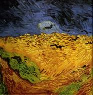 Wheat Field With Crows (Фрагмент)