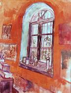 Window Of Vincent S Studio At The Asylum