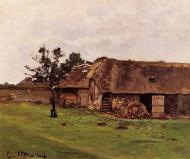 1864. Farm near Honfleur.
