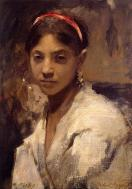 1878. Head of a Capri Girl