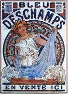 Bleu Deschamps, C.1897