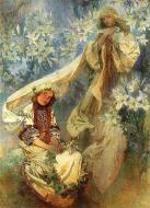 Madonna Of The Lillies. 1905