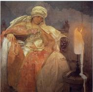 Woman With A Burning Candle. 1933